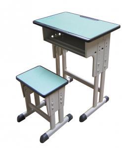 升降式钢木课桌凳