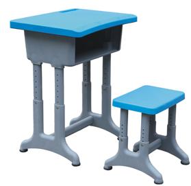 (双层桌面)升降式课桌凳